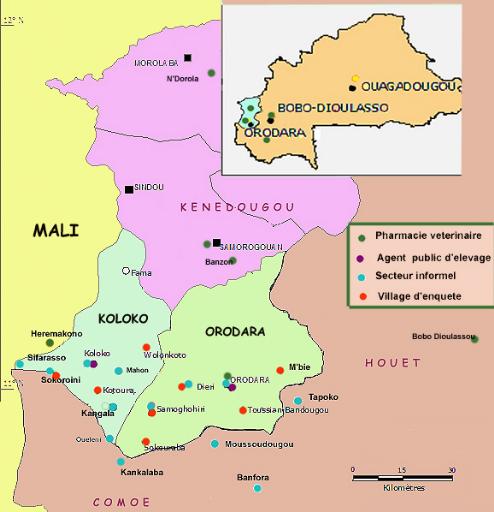 Burkina-carte