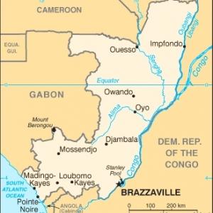 Congo carte
